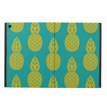 Tropical Hawaiian Pineapple Pattern iPad Air Case