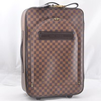 Authentic Louis Vuitton Damier Pegase 55 Travel Carry bag N23294 LV 46777