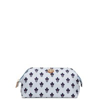 Tory Burch Printed Nylon Large Molded Cosmetic Case