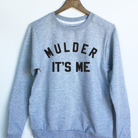 X-Files Mulder It's Me Sweatshirt in Grey