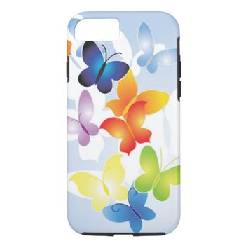 Colorful Butterflies iPhone 8/7 Case