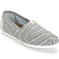 Toms Alpargata Grey Printed Wool