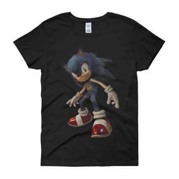 Sonic The Hedgehog The Movie Women'S T Shirt
