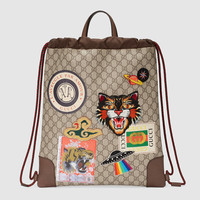 Gucci - Gucci Courrier soft GG Supreme drawstring backpack