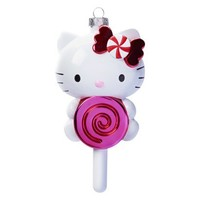 Hello Kitty Mercury Glass Ornament