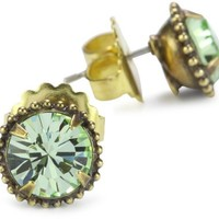 "Sorrelli ""Sweet Dreams"" Elegant Jackie Antique Gold-Tone Stud Earrings"