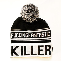 Death / Killer Pom Pom Beanie | KILL STAR