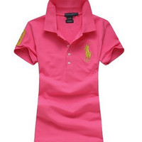 Polo: sports fashion tide all-match T-shirt sweater