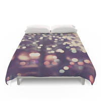 Society6 Christmas Night Duvet Cover