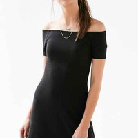 Cooperative Odelia Ribbed Off-The-Shoulder Dress
