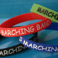 MARCHING BAND silicone bracelets