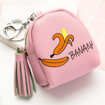 Chanrming Nice Women Girls Cute Fashion Snacks Coin Purse Wallet Bag Change Pouch Key Holder Juy3 Y25