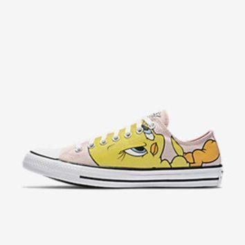 CREYON converse chuck taylor all star tweety low top