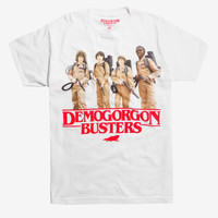 Stranger Things Demogorgon Busters T-Shirt