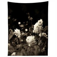 Olivia St Claire Black Dahlia Tapestry