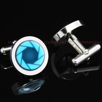portal valve glados aperture science Mens Cufflinks,Personalized Mens Cufflinks,mens gift birthday gift