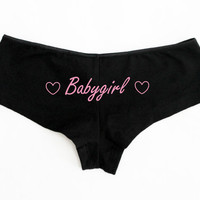 Babygirl Boyshorts Shorties S-L