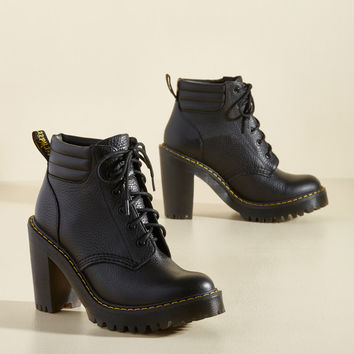 Avant-Garde Announcement Leather Bootie | Mod Retro Vintage Boots | ModCloth.com