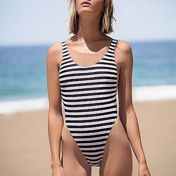 GNASH Swim Womens High Cut One Piece
