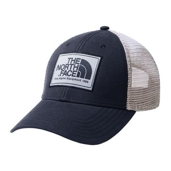 Mudder Trucker Hat in Shady Blue, Peyote Beige & Urban Navy by The North Face