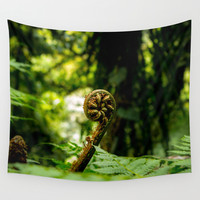 Swirl Wall Tapestry by Nicklas Gustafsson