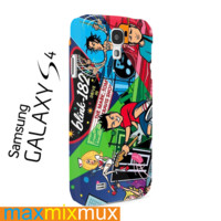 Blink 182 Punk Rock Band Samsung Galaxy Series Full Wrap Cases