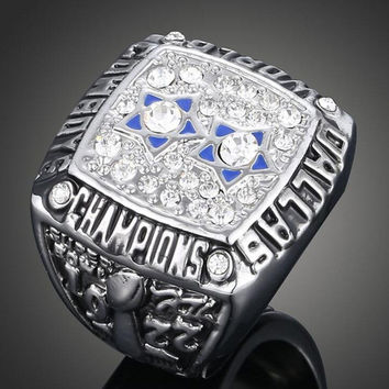 Vintage Jewelry 1977 Dallas Cowboys Super Bowl Replic Championship Rings For Women & Men Valentine'S Day Gift Souvenir Products