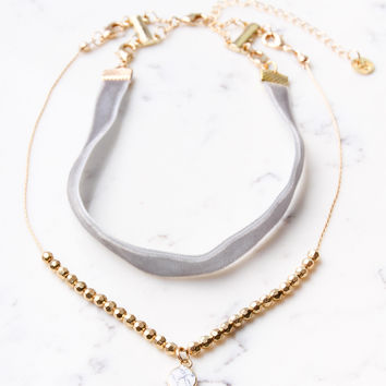 Wanderlust Layered Choker | Shira Melody