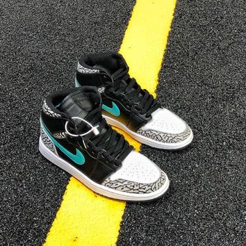 [Free Shipping  ]Theshoesurgeon x Atmos x Air Jordan 1 Basketball Sneaker