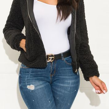 Show Off Sweater Black