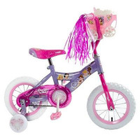 Disney  Princess 12 Inch Toddlers,Kids Bike,Bicycle w Training Wheels,Tricycle