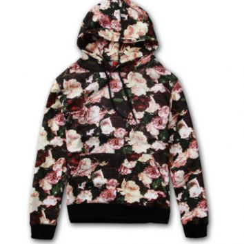 Supreme Rose Flower Jacket (Black/Pink)