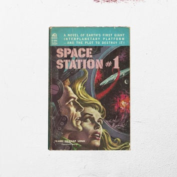 50s Sci Fi Book • Space Station No. 1 • First Edition Science Fiction • Ace Book • Frank Belknap Long • Alien Space Adventure • Space Novel