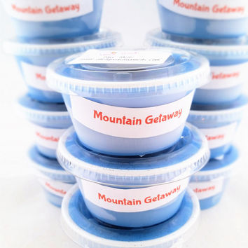 Mountain Getaway Highly Scented Wax Warmer Melts - Scent Shots - Home Fragrance - Candle Tarts - Man's Cologne Scent - Masculine