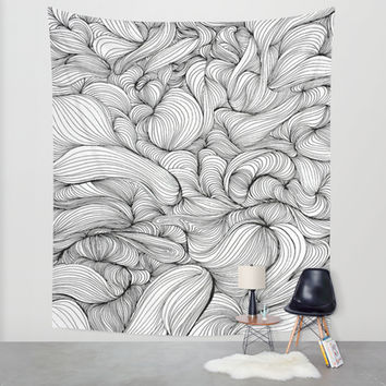 Fabric Wall Tapestry by DuckyB (Brandi)