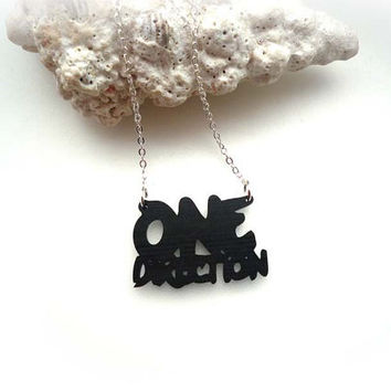 Wow...One Direction Necklace  - Great Gift ( A55 )