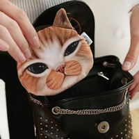 Funny Kitty Coin Purse -9 Kitty Options-