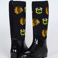 Cuce Shoes Chicago Blackhawks Women's Enthusiast II Boot