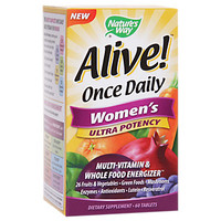 Alive! Once Daily Womens Ultra Potency (60 Tablets) by Natures Way at the Vitamin Shoppe