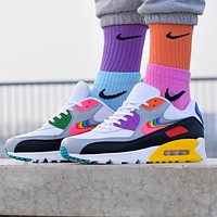 Free shipping: NIKE AIR MAX 90 BETRUE men's and women's high-quality mesh breathable running shoes