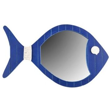 Blue Fish Mirror Wall Decor | Shop Hobby Lobby