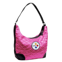 Pittsburgh Steelers NFL Quilted Hobo