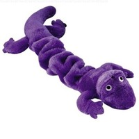 "Zanies Bungies Gecko Dog Toys, Purple, 16""-24"""
