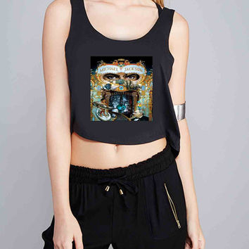 Michael Jackson Dangerous Ramayani for Crop Tank Girls S, M, L, XL, XXL *07*