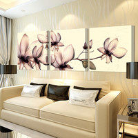 3ps(no frame)Yellow orchid pictures painting canvas art cuadros poster