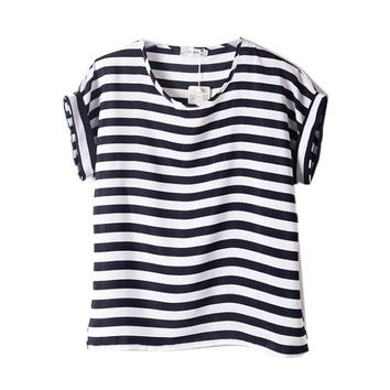 Loose  Striped Shirts