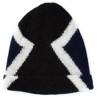 Neil Barrett colour block beanie