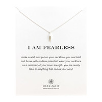 I Am Fearless Make A Wish, Sterling Silver | Dogeared