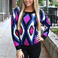 A-ok Aztec Sweater