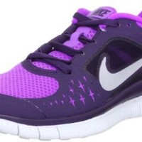 Nike Lady Free Run+ V3 Running Shoes - 9 - Purple